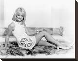 Judy Geeson Stretched Canvas Print