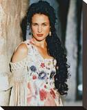 Andie MacDowell - Bad Girls Stretched Canvas Print