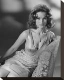 Shirley Anne Field Stretched Canvas Print