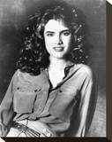 Heather Langenkamp Stretched Canvas Print