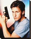 Emilio Estevez - Freejack Stretched Canvas Print