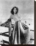 Jennifer Jones - Duel in the Sun Stretched Canvas Print