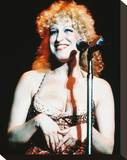 Bette Midler Stretched Canvas Print