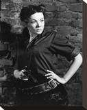 Gene Tierney - Belle Starr Stretched Canvas Print