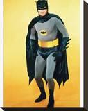 Adam West - Batman Stretched Canvas Print