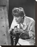 David Hemmings Stretched Canvas Print