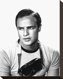 Marlon Brando - The Teahouse of the August Moon Stretched Canvas Print