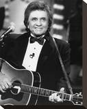 Johnny Cash Stretched Canvas Print