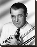 The Glenn Miller Story Stretched Canvas Print