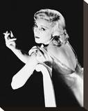 Claire Trevor Stretched Canvas Print