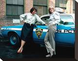 Cagney & Lacey Stretched Canvas Print