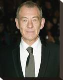 Ian McKellen Stretched Canvas Print