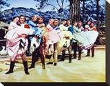 Seven Brides for Seven Brothers Stretched Canvas Print