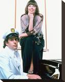 Captain & Tennille Stretched Canvas Print
