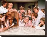 The Waltons (1972) Stretched Canvas Print