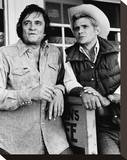 Thaddeus Rose and Eddie (1978) Stretched Canvas Print