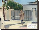 Mon oncle (1958) Stretched Canvas Print