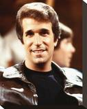 Henry Winkler, Happy Days (1974) Stretched Canvas Print