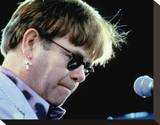 Elton John Stretched Canvas Print