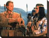 Lex Barker, winnetou the warrior (1946) Stretched Canvas Print