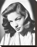 Lauren Bacall Stretched Canvas Print