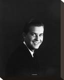 Dick Clark Stretched Canvas Print