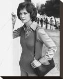 Jessica Walter - Amy Prentiss Stretched Canvas Print
