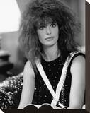Kelly LeBrock - Weird Science Stretched Canvas Print