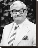 Ronnie Barker Stretched Canvas Print