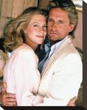 Romancing the Stone (1984) Stretched Canvas Print