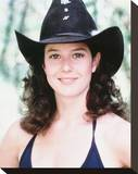 Debra Winger - Urban Cowboy Stretched Canvas Print