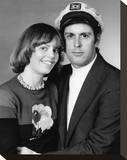 The Captain and Tennille Stretched Canvas Print