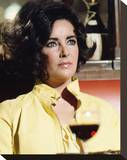 Elizabeth Taylor, The Only Game in Town (1970) Stretched Canvas Print