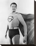 George Reeves, Adventures of Superman (1952) Stretched Canvas Print