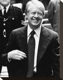 Jimmy Carter Stretched Canvas Print