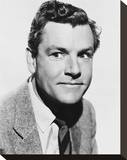 Kenneth More Stretched Canvas Print