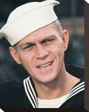 Steve McQueen, The Sand Pebbles (1966) Stretched Canvas Print