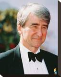 Sam Waterston Stretched Canvas Print