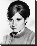 Barbra Streisand Stretched Canvas Print
