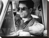 Robert De Niro, Taxi Driver (1976) Stretched Canvas Print