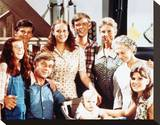 The Waltons Stretched Canvas Print