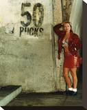 Theresa Russell, Whore (1991) Stretched Canvas Print