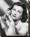 Joan Bennett Stretched Canvas Print