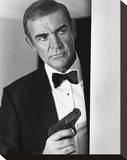 Sean Connery, Never Say Never Again (1983) Stretched Canvas Print