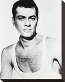 Tony Curtis, Trapeze (1956) Stretched Canvas Print