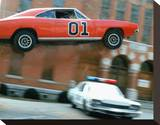 The Dukes of Hazzard Stretched Canvas Print