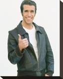 Henry Winkler, Happy Days Stretched Canvas Print