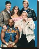 The A-Team (1983) Stretched Canvas Print