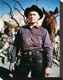 Yul Brynner, Return of the Seven (1966) Stretched Canvas Print