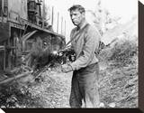 Burt Lancaster, The Train (1964) Stretched Canvas Print
